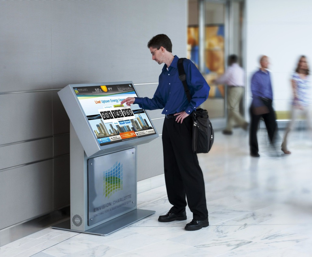 Easy Touch Screen Technology of the Kiosks
