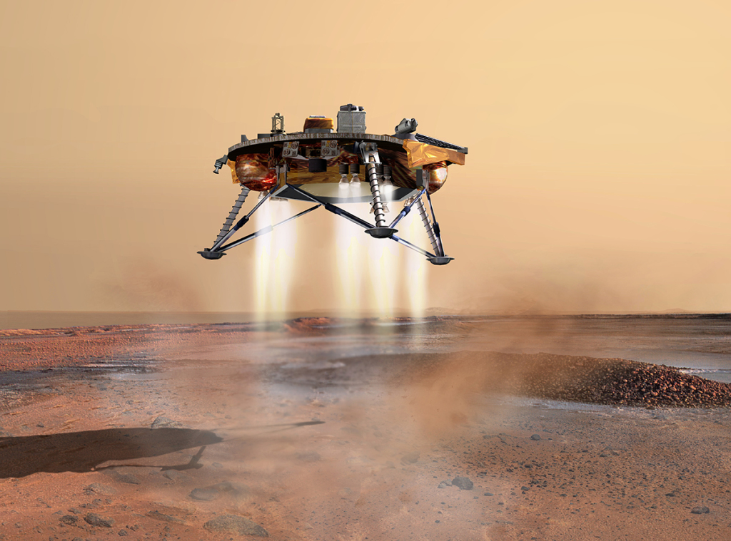 NASA'S New InSight Lander Will Plumb the Depths of Mars in 2016