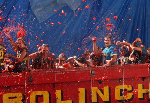 Spain's Messy La Tomatina Festival Never Fails To Delight