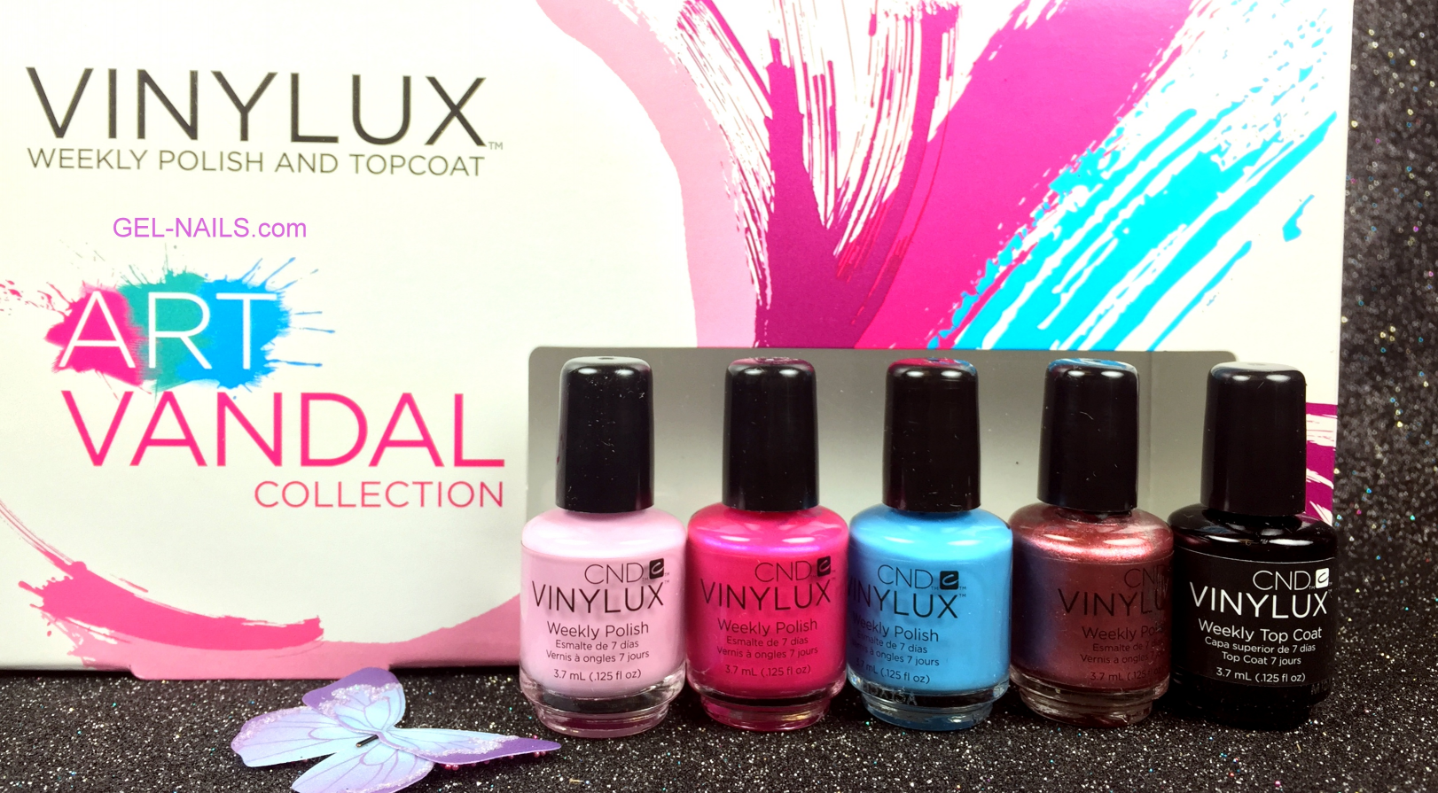 CND VINYLUX: A Stunning Addition To Shellac Nail Colors