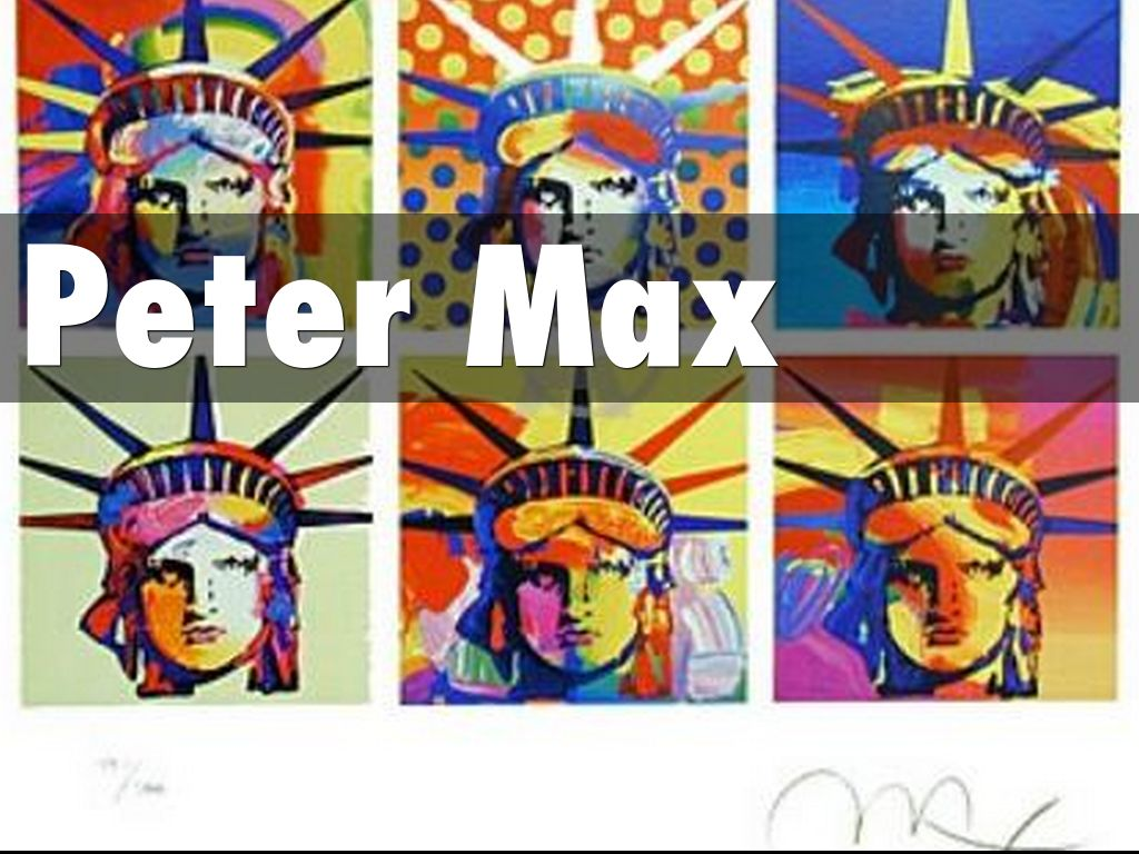 Pop Art Finds Its True Patriot In Peter Max